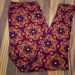 Starburst LuLaRoe TC Leggings NWOT